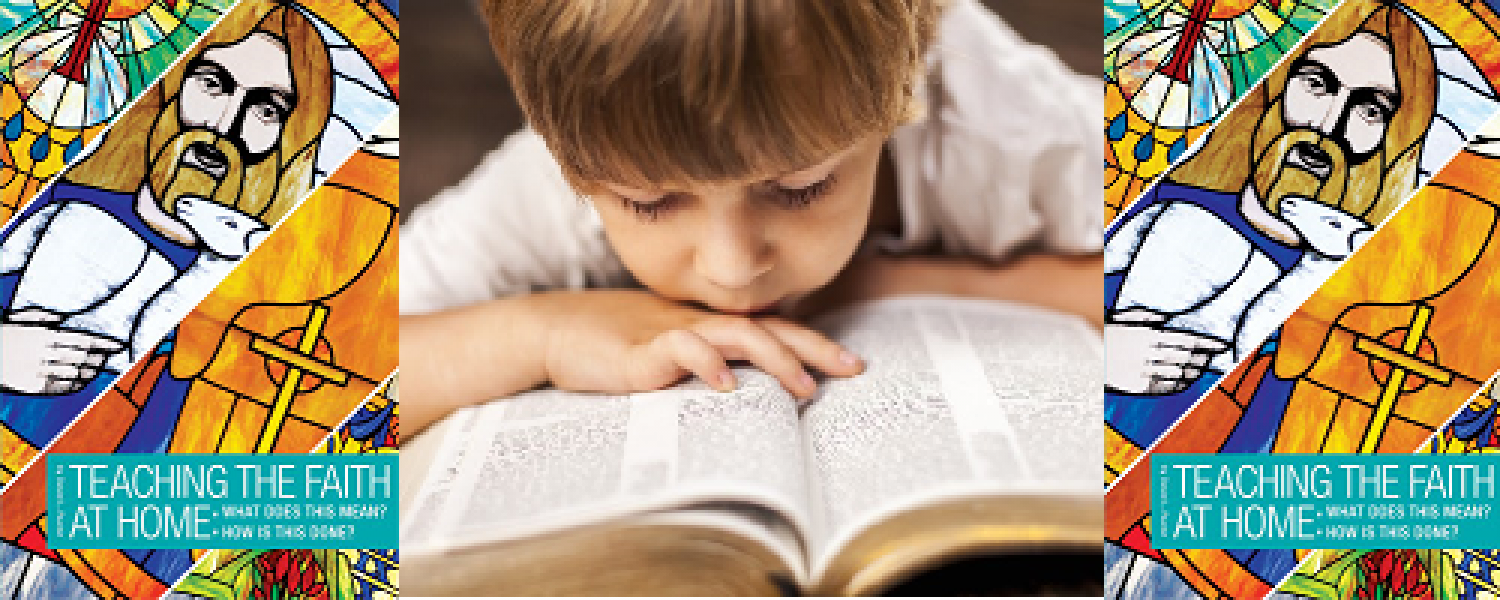 Book Of The Month For March 2016:  Teaching the Faith at Home: What Does This Mean? How Is This Done?