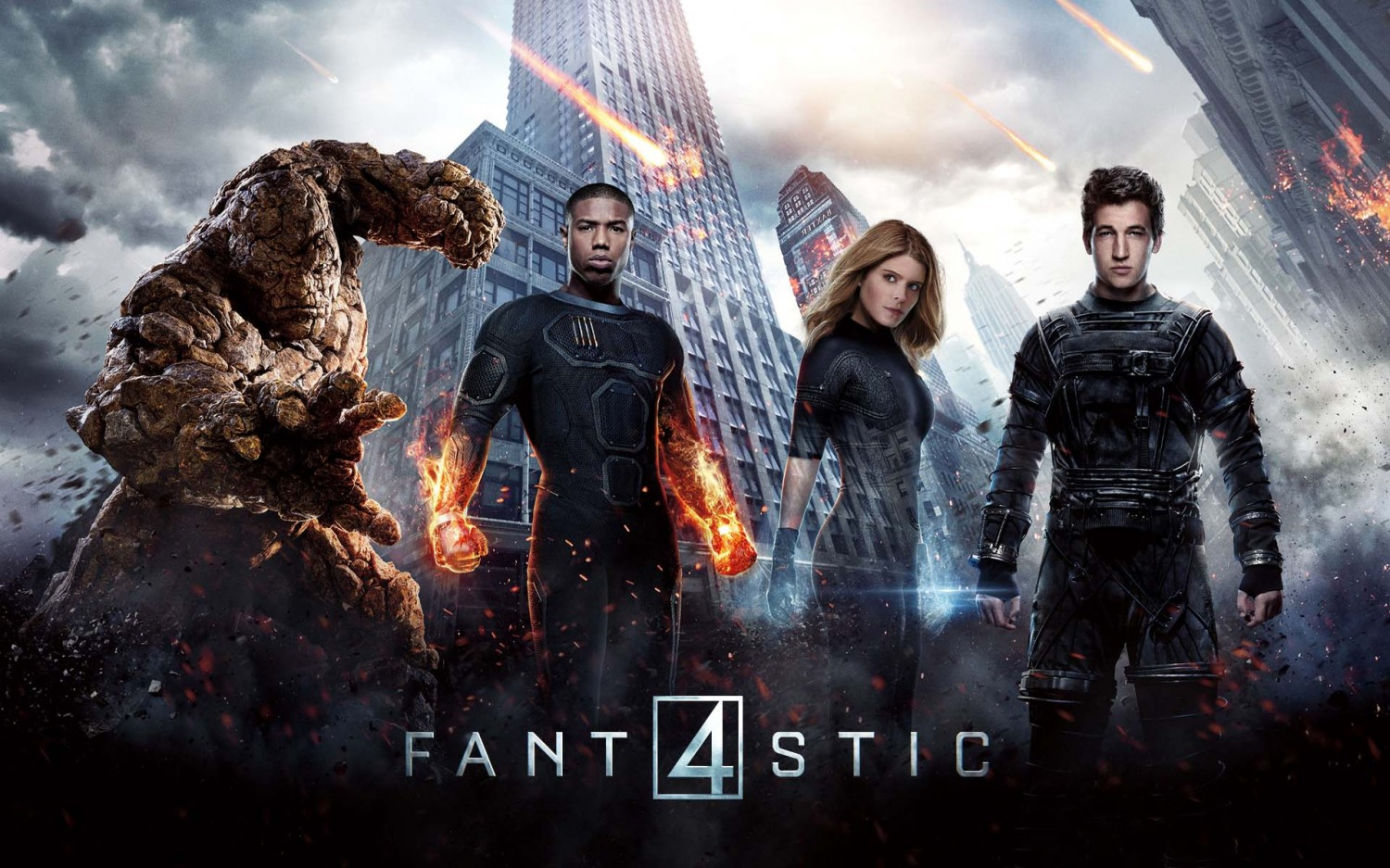 Fantastic Four (2015) by Josh Trank- Movie Review