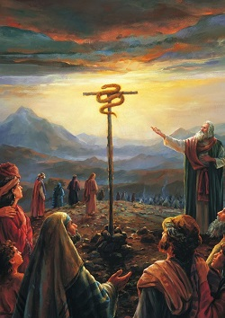 Jesus Lifted Up: Fourth Sunday In Lent - Numbers 21 & John 3 / Pastor Ted A. Giese - Image 7