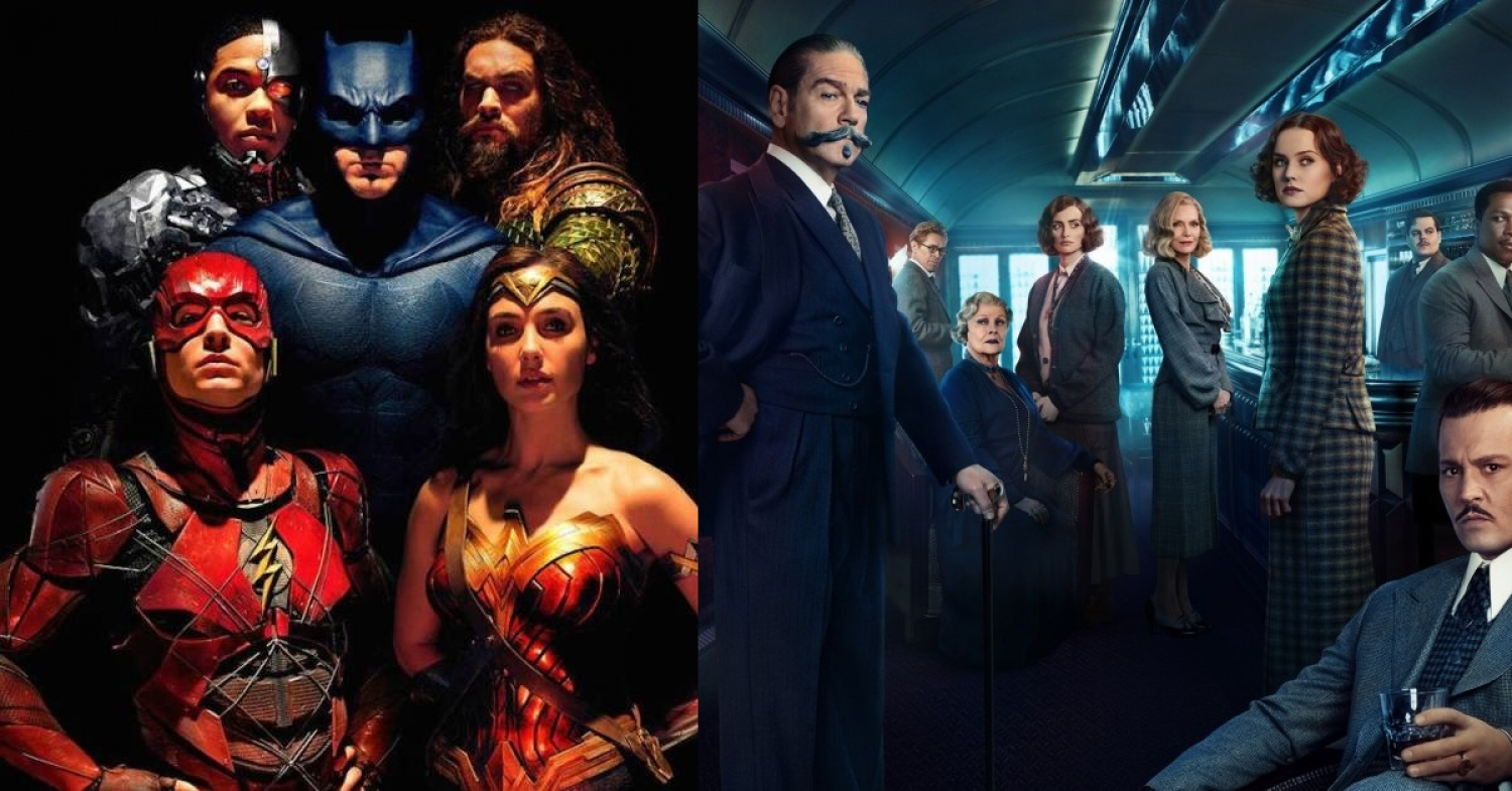 Justice League (2017) Zack Snyder & Murder on the Orient Express (2017) Kenneth Branagh - Movie Review