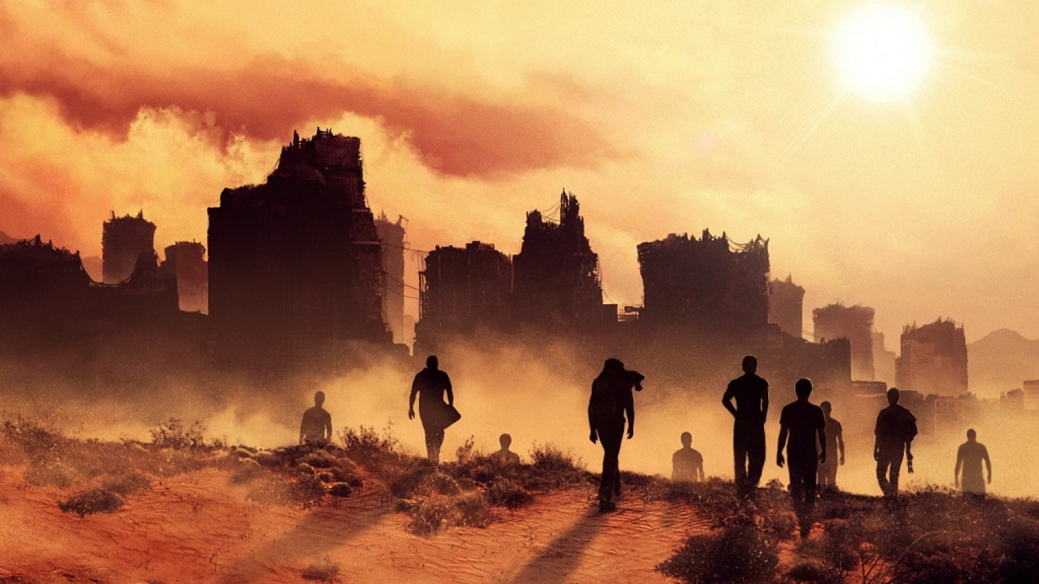 Maze Runner: The Scorch Trials (2015) Directed By Wes Ball - Movie Review