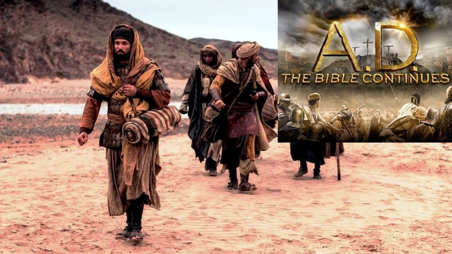 Recap & Review - Episode 8 / A.D. The Bible Continues