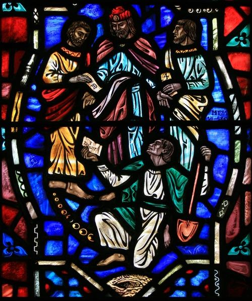 Sermon February 16/ Vicar James Preus/Mount Olive Lutheran Church/ Jesus Causes Our Talents to Grow/Matthew 25:14-30
