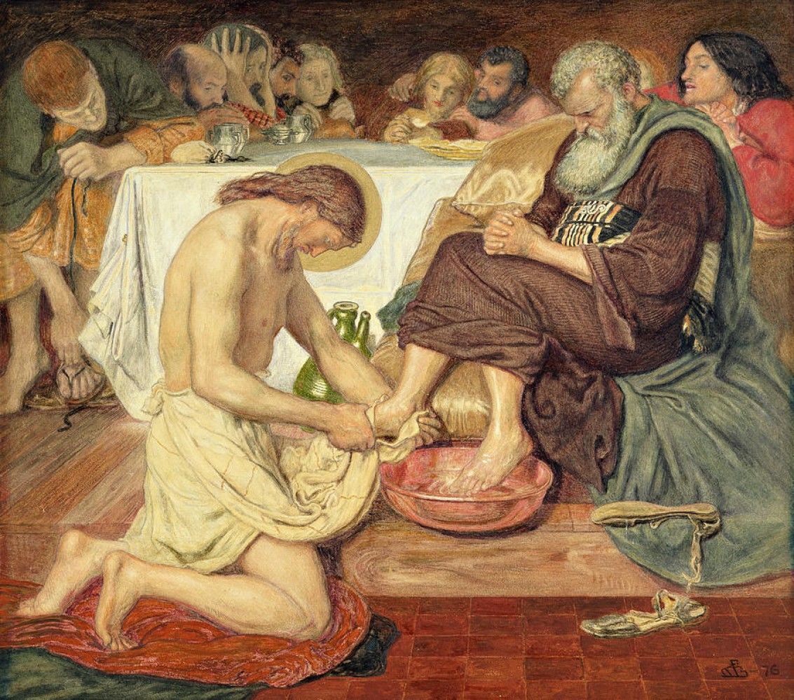 Sermon / Maundy Thursday / March 24, 2016 / A Towel & A Basin / John 13 / Pastor Terry Defoe