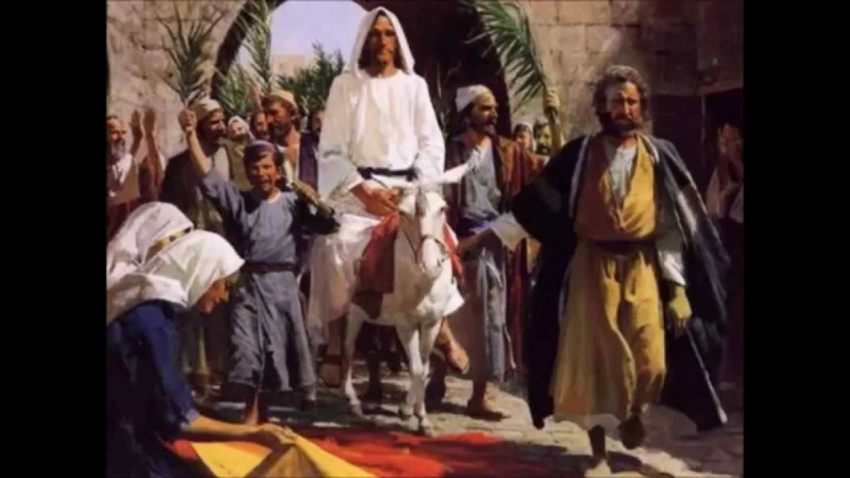 Sermon / Pr. Lucas Albrecht / Sunday April 9th 2017 - / John 12:12-19 / Behold, your King is coming