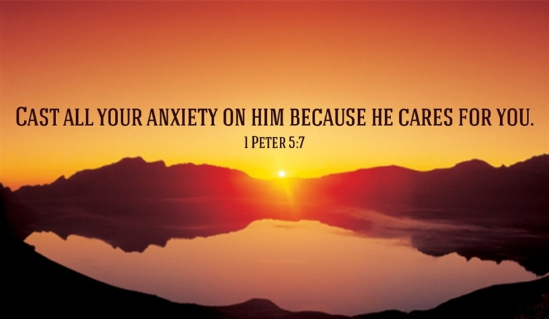 Sermon / Pr. Lucas Albrecht / Sunday May 28th 2017 - / 1 Peter 4 and 5; John 17:1-11 / He cares for you
