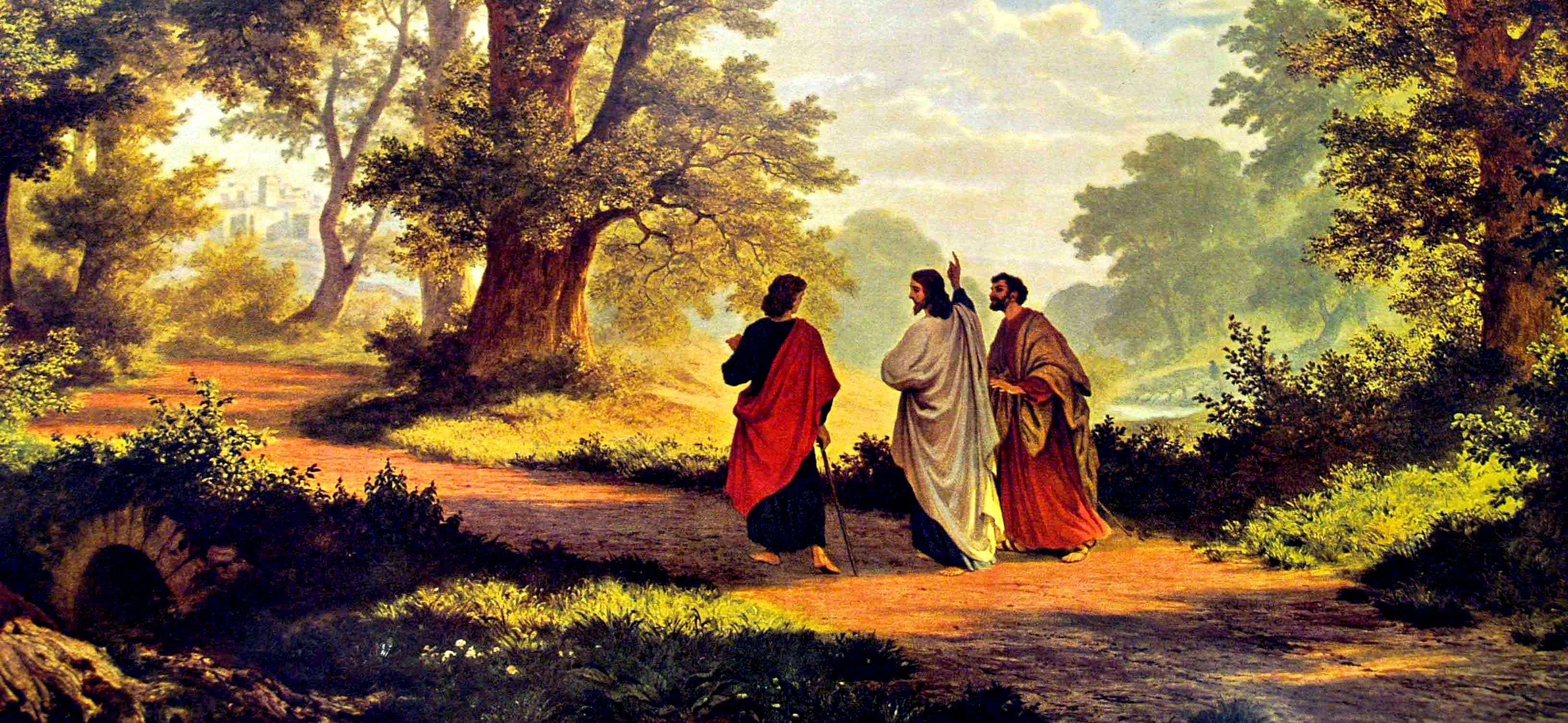 Sermon / Pr. Ted Giese / Sunday April 30th 2017 - / Luke 24:13-35 / Hearing Jesus - Seeing Jesus - Image 4