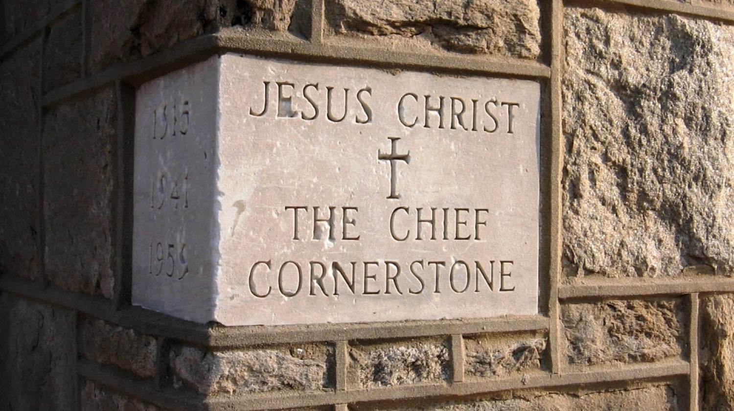 Sermon / Pr. Ted Giese / Sunday March 13th 2016 - / Luke 20:9-20 / Jars of Glass & The Cornerstone