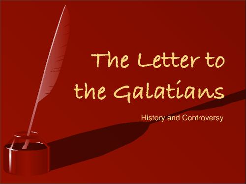 Sermon July 7th, 2013 - Galatians 6 - Living by the Spirit