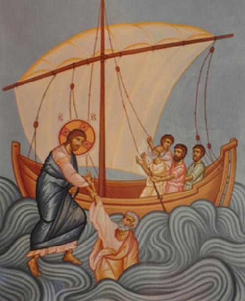 Sermon / August 10, 2014 / Pastor Terry Defoe / A Contrary Wind / Matthew 14:25-27