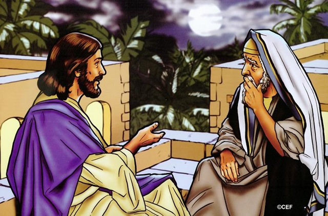 Sunday School Parent Connection: Sun. Mar 16 - Jesus Teaches Nicodemus - Image 2