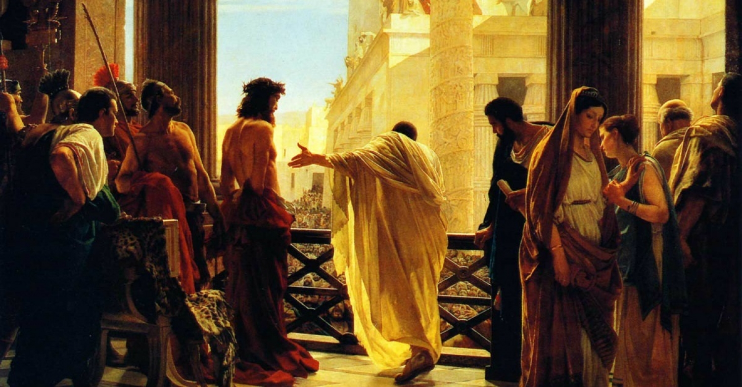 That Righteous Man Pontius Pilate's Wife / Sermon / Pr. Ted Giese / Season Of Lent / Good Friday March 30th 2018 - / Matthew 27:15-19
