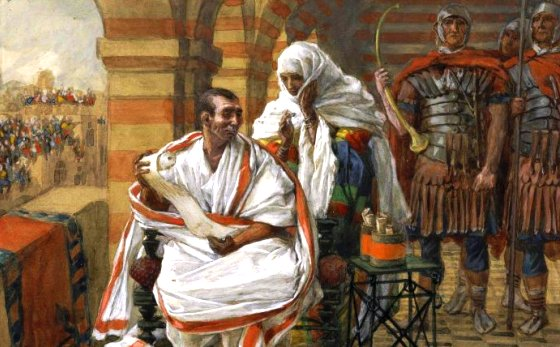 That Righteous Man Pontius Pilate's Wife / Sermon / Pr. Ted Giese / Season Of Lent / Good Friday March 30th 2018 - / Matthew 27:15-19 - Image 7