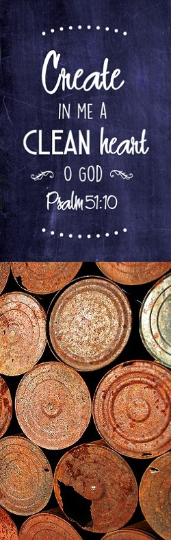 The heart is a rusty old can on a junk heap - Psalm 51 Sermon December Prayer Service - Image 4