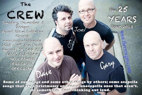 THE original CREW - 25th Anniversary Tour Concert