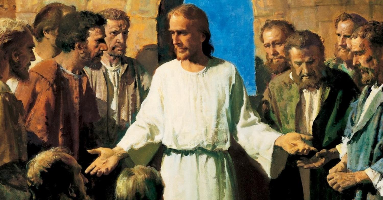 The Risen Christ Jesus Speaks, Eats & Sends His Disciples / Sermon / Pr. Ted Giese / Season of Easter / April 15th 2018 - / Luke 24:36-49
