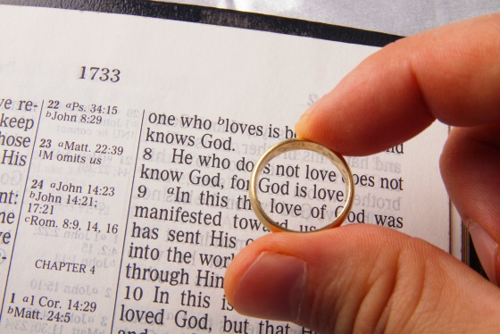 Wedding Sermon / Cornell & Jodi Srochenski / Ecclesiastes 4:9-12 & 1 John 4:19 - Pastor Ted Giese / Mount Olive Lutheran Church - September 9th 2017 - Image 1