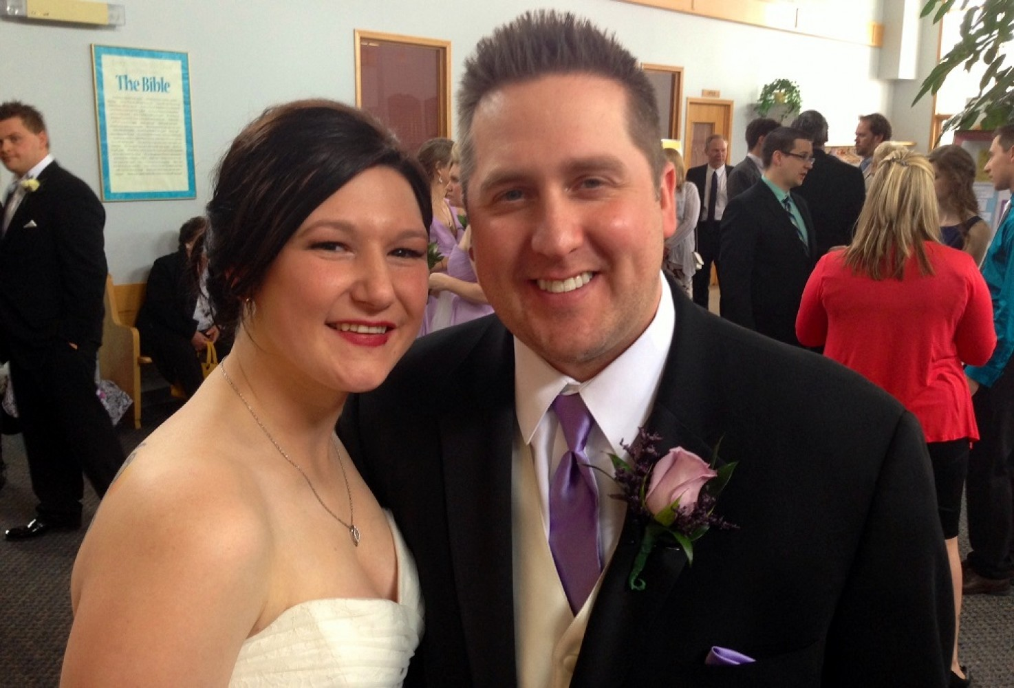 Wedding Sermon / Thayne & Maegan Giroux / Colossians 3:12-17 - Pastor Ted Giese / Mount Olive Lutheran Church - March 28th 2015