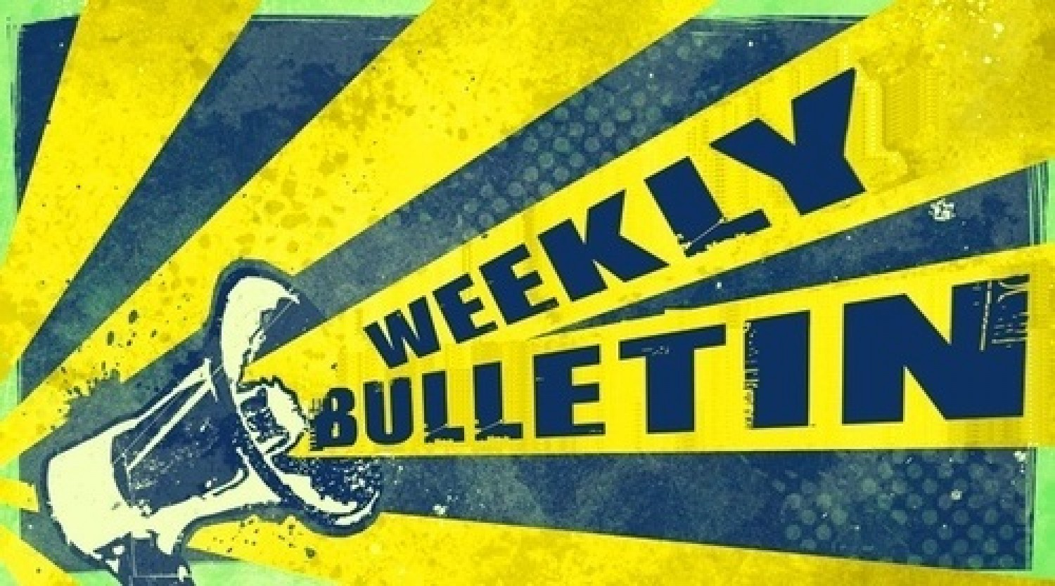 Weekly Bulletin May 24th