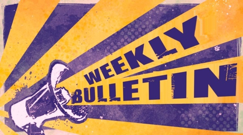 Weekly Bulletin Sunday April 28th