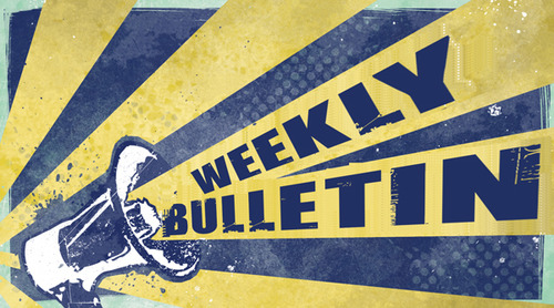 Weekly Bulletin Sunday August 25th