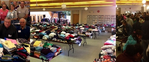 What it Takes to Run the Mount Olive Annual Clothing Give-Away