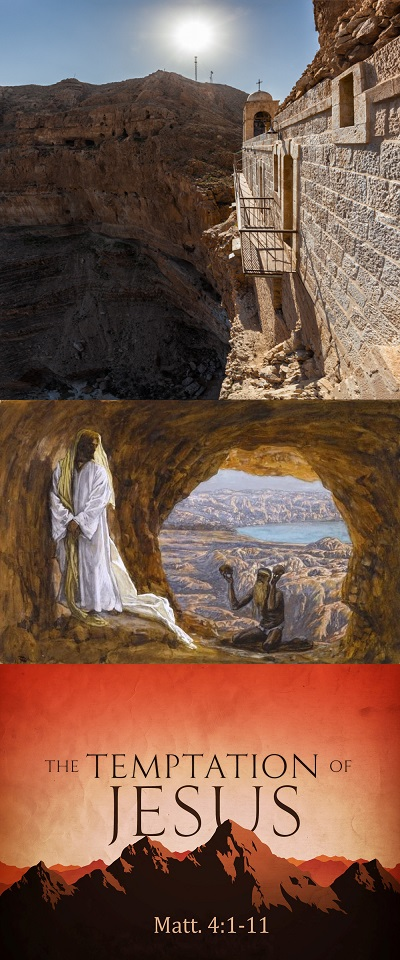 Jesus Tempted / Sermon / Lent 1 March 9, 2014 / Matthew 4:1-11 / Pastor Ted Giese - Image 1