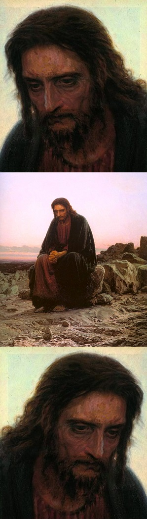 Jesus Tempted / Sermon / Lent 1 March 9, 2014 / Matthew 4:1-11 / Pastor Ted Giese - Image 2