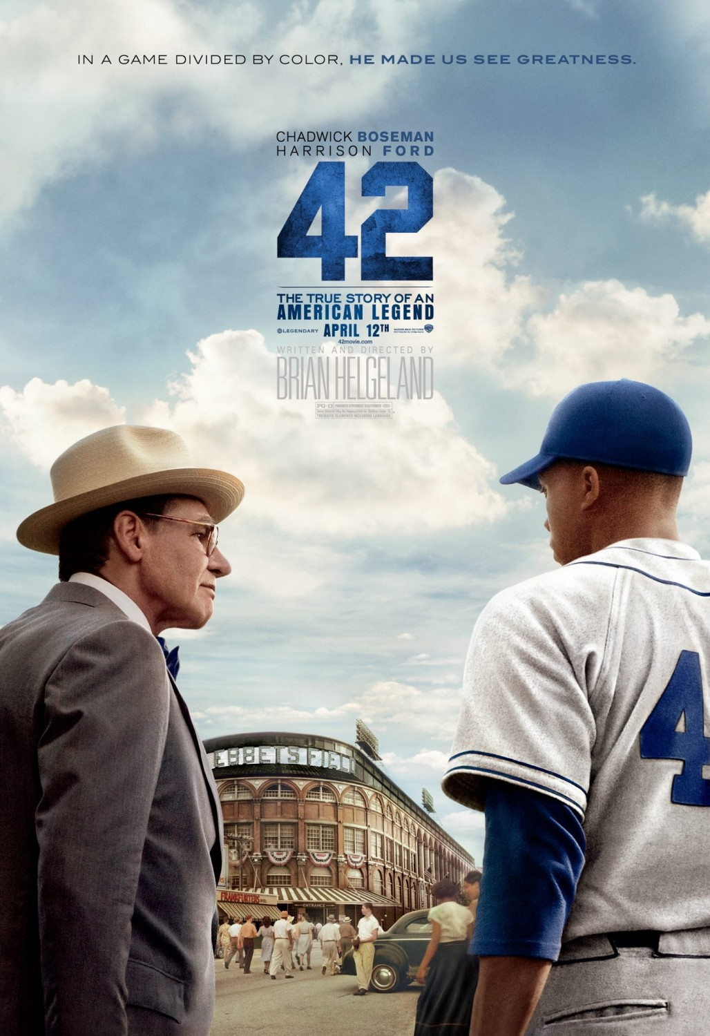 42 (2013) Directed by Brian Helgeland - Image 1