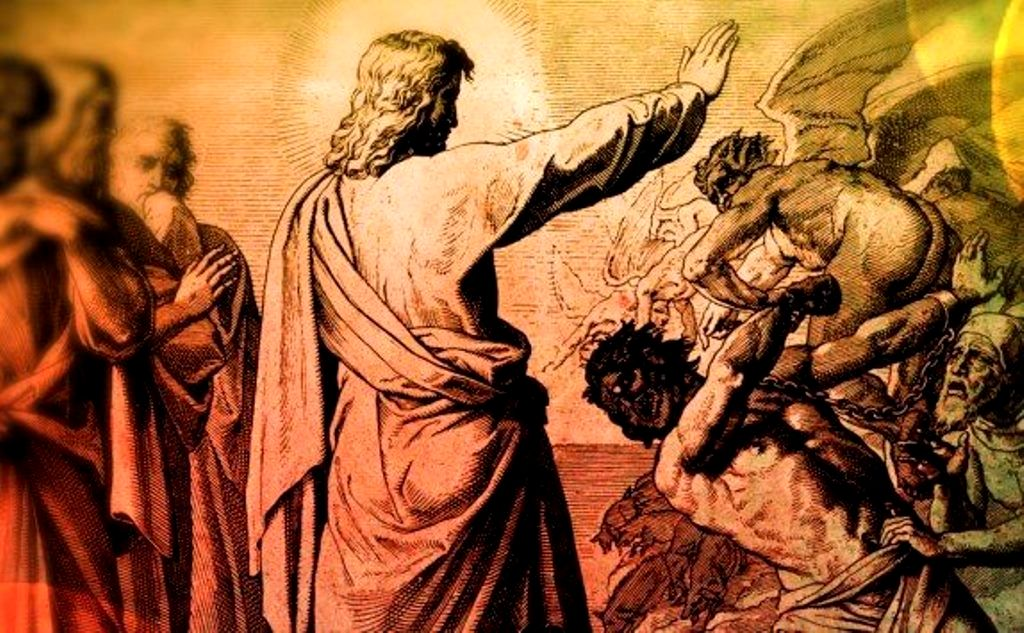 Against the Spiritual Forces of Evil Sermon / Luke 8:26–39 / Pr. Ted A. Giese / Sunday June 25th 2019 / Season of Pentecost / Mount Olive Lutheran Church - Image 11