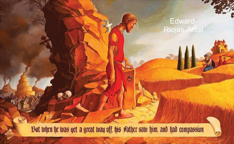 """An exaggeration of love"" Sermon / Luke 15:1-3; 11-32 / Pr. Lucas A. Albrecht / Sunday March 31st 2019 / Season of Lent / Mount Olive Lutheran Church"