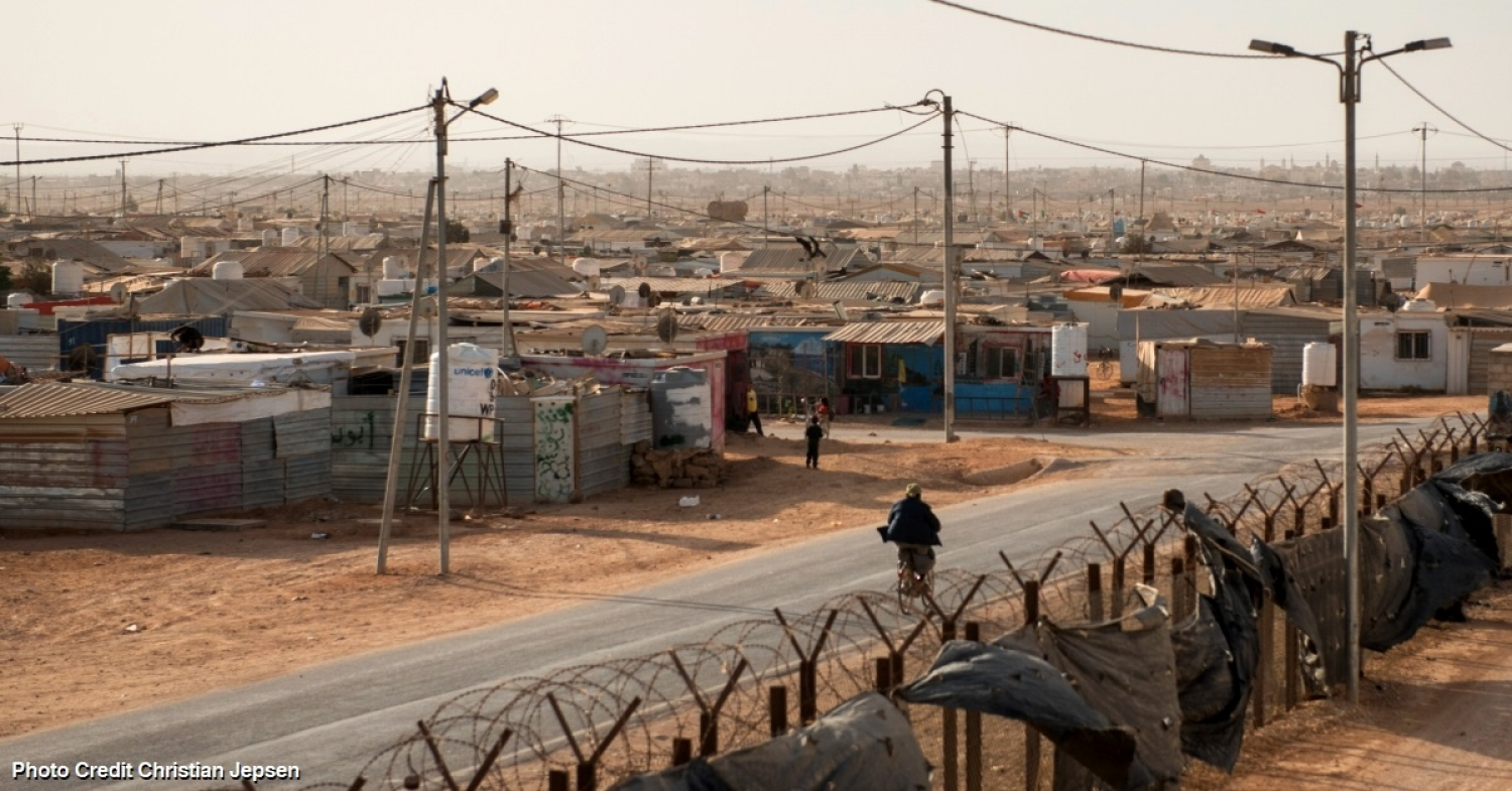 An Oasis of Peace for neighbours in need - Peace Oasis in Za'atari Refugee Camp Jordan