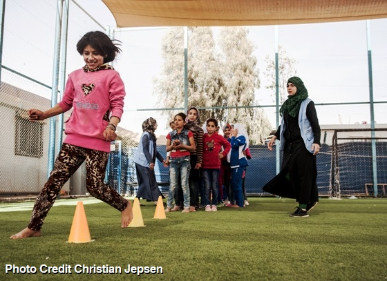 An Oasis of Peace for neighbours in need - Peace Oasis in Za'atari Refugee Camp Jordan - Image 7