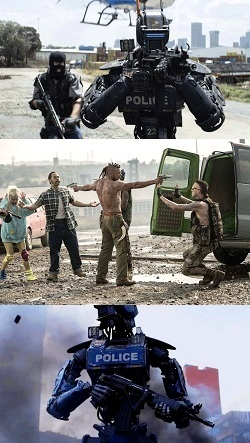 CHAPPiE (2015) by Neill Blumkomp - Movie Review - Image 12