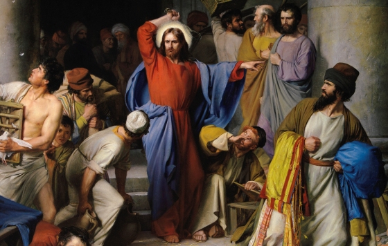 Fighting the Noon-Day-Devil Acedia / Sermon / Pr. Ted Giese / Season of Lent / Sunday March 4th 2018 - / John 2:13-22 - Image 7
