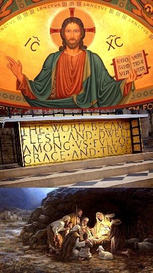Flesh And Blood Jesus: Christmas Day - John 1:1-14 - Image 4