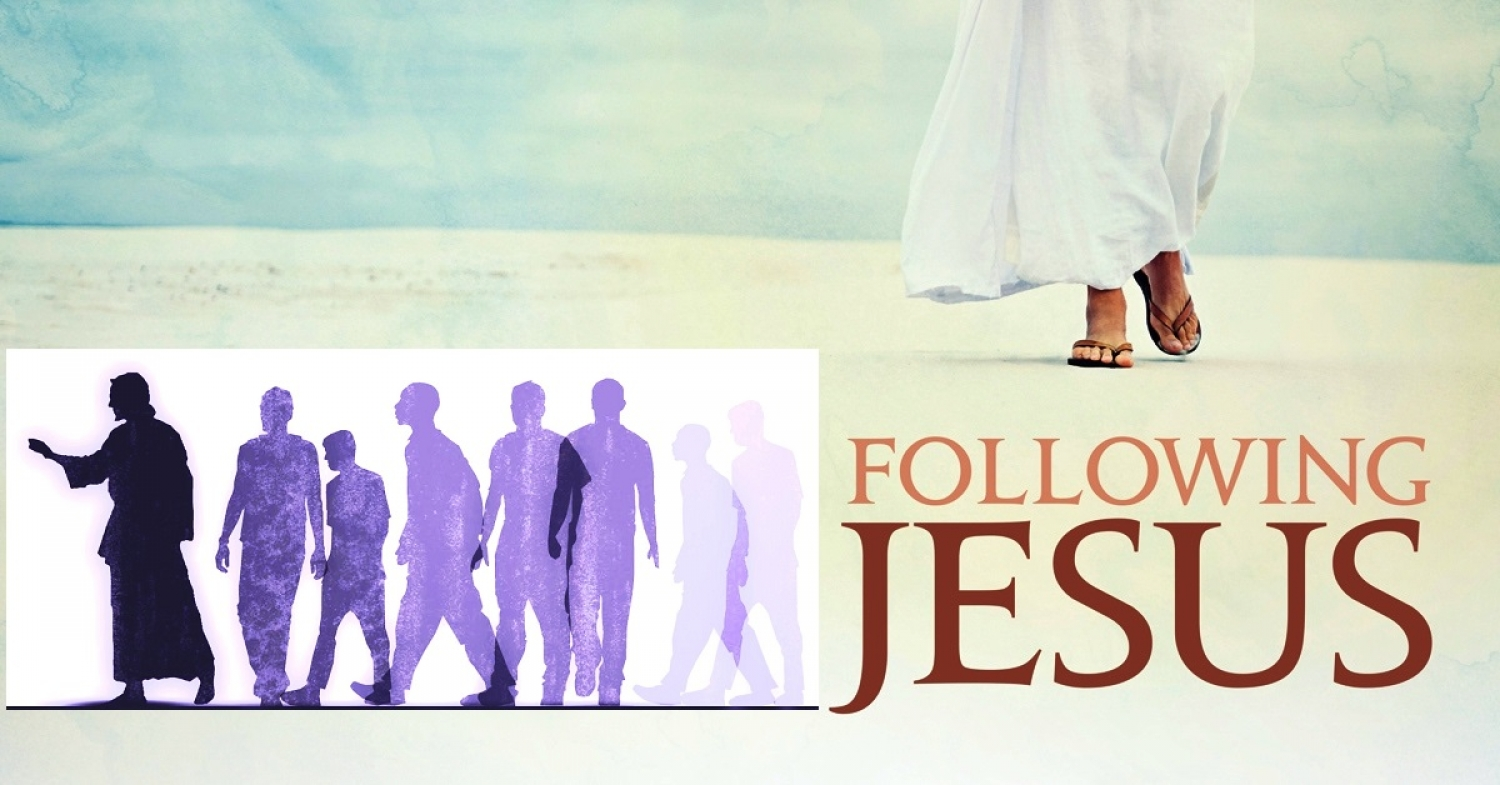 Following Christ / John 12 / Pr. Ted A. Giese / Sunday April 5th 2020 / Palm Sunday Holy Week / Mount Olive Lutheran Church