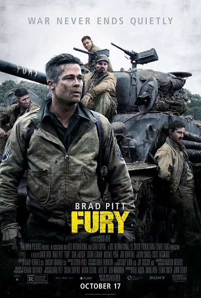 Fury (2014) Directed by David Ayer - Movie Review - Image 3