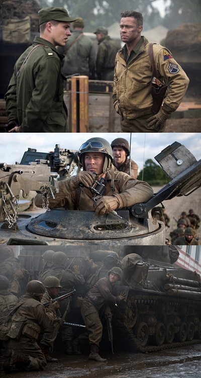 Fury (2014) Directed by David Ayer - Movie Review - Image 4
