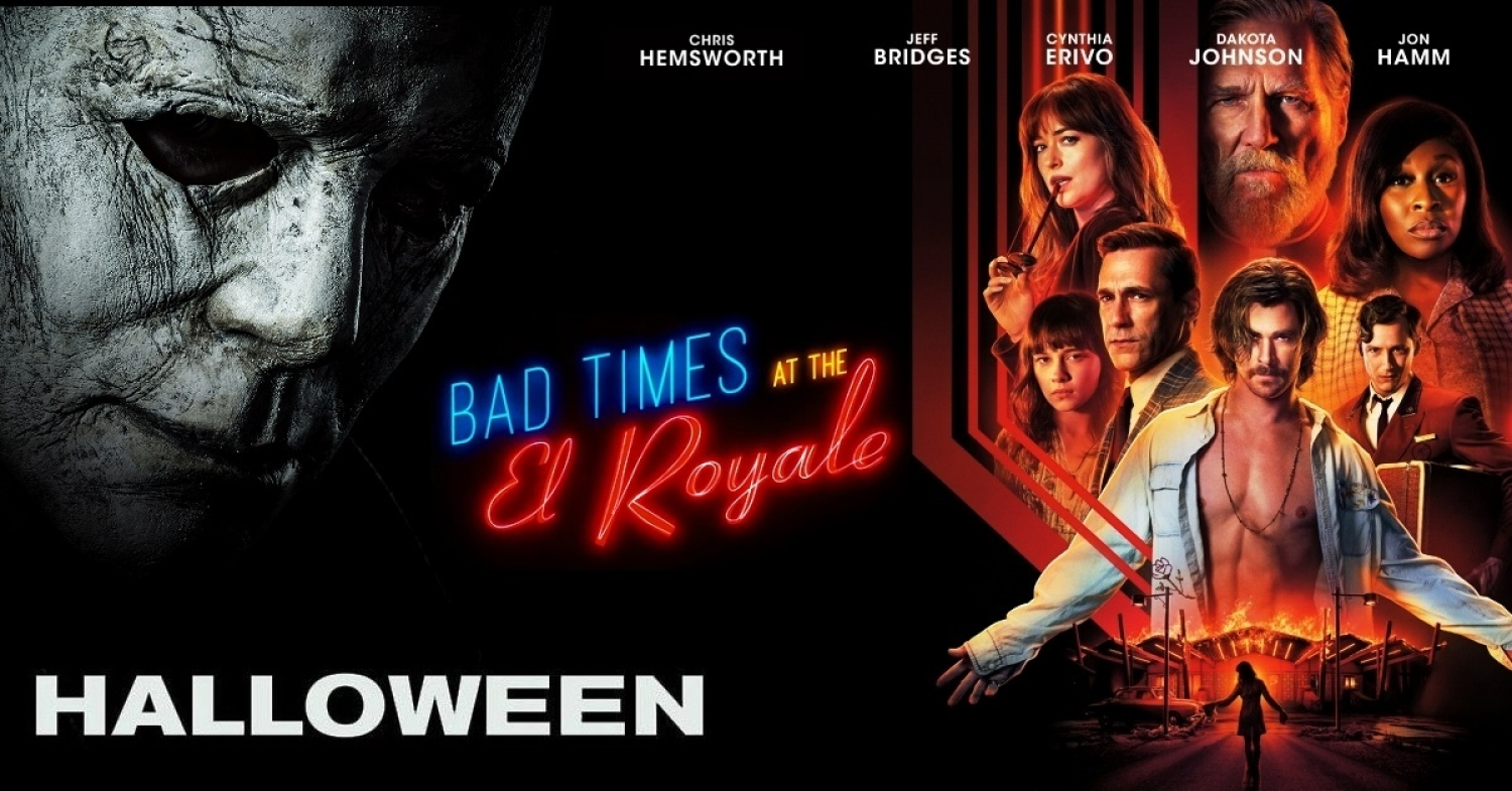 Halloween (2018) David Gordon Green & Bad Times at the El Royale (2018) Drew Goddard - Movie Review