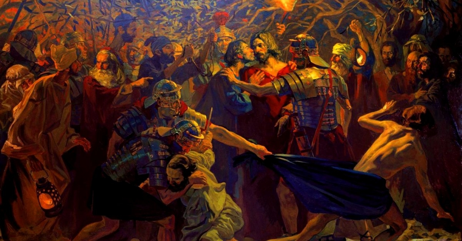 His Scattered Sheep / Mark 14:26–52 / Pr. Ted A. Giese / Friday April 10th 2020 / Good Friday Holy Week / Mount Olive Lutheran Church