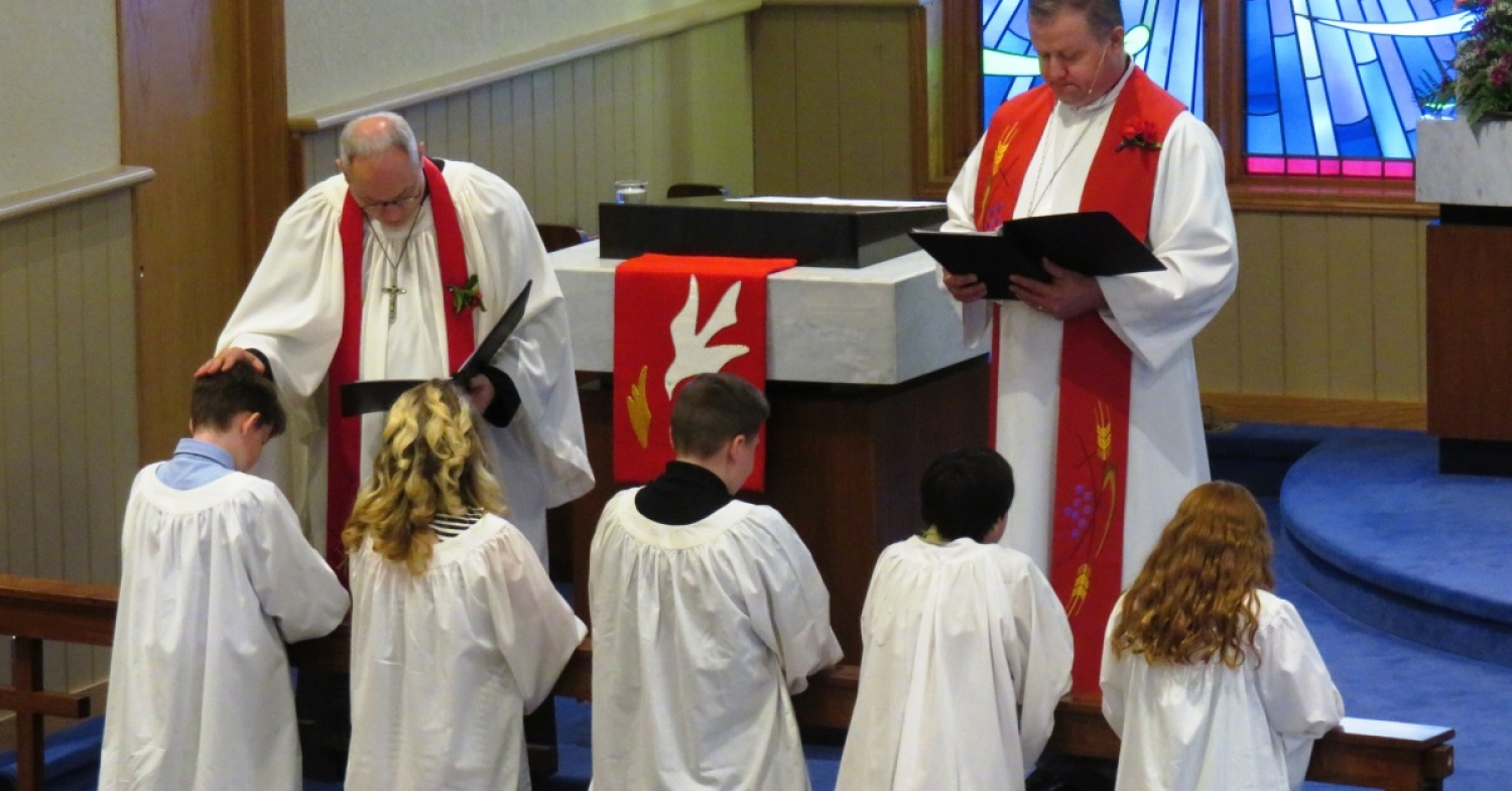 """Jesus Establishes His Church"" Sermon / John 14:23–31 / Pr. Ted A. Giese / Sunday June 9th 2019 / Pentecost Sunday / Mount Olive Lutheran Church"