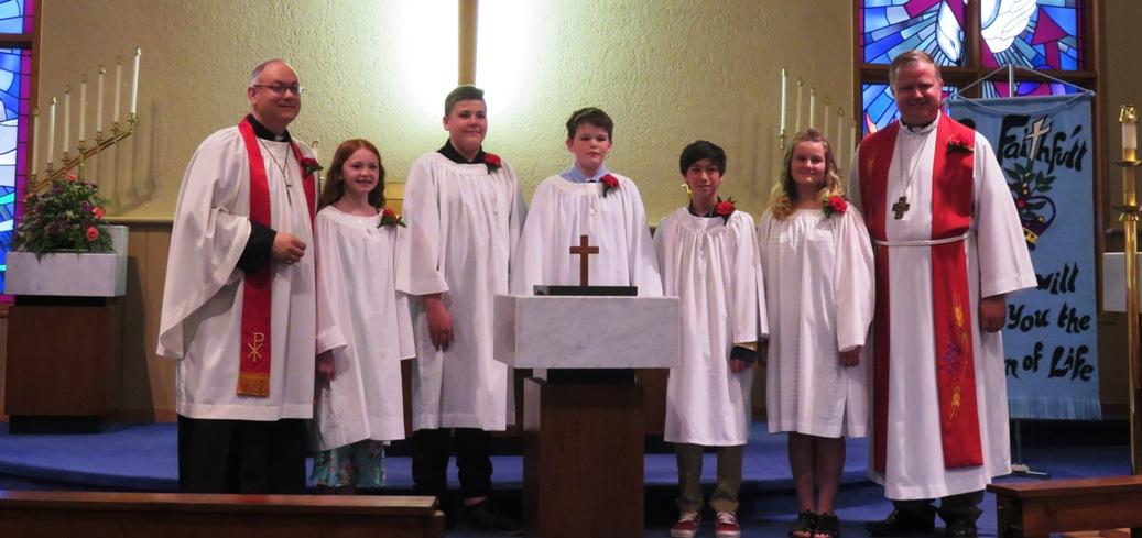 Jesus Establishes His Church Sermon / John 14:23–31 / Pr. Ted A. Giese / Sunday June 9th 2019 / Pentecost Sunday / Mount Olive Lutheran Church - Image 6