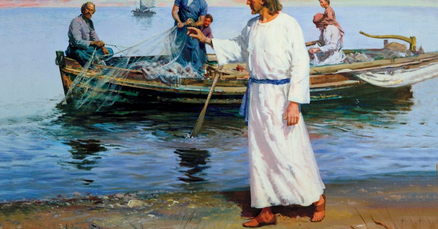 """Jesus says """"I Will Make You"""" Sermon / Matthew 4:12-29 / Pr. Ted A. Giese / Sunday January 26th 2020 / Season of Epiphany / Mount Olive Lutheran Church"""