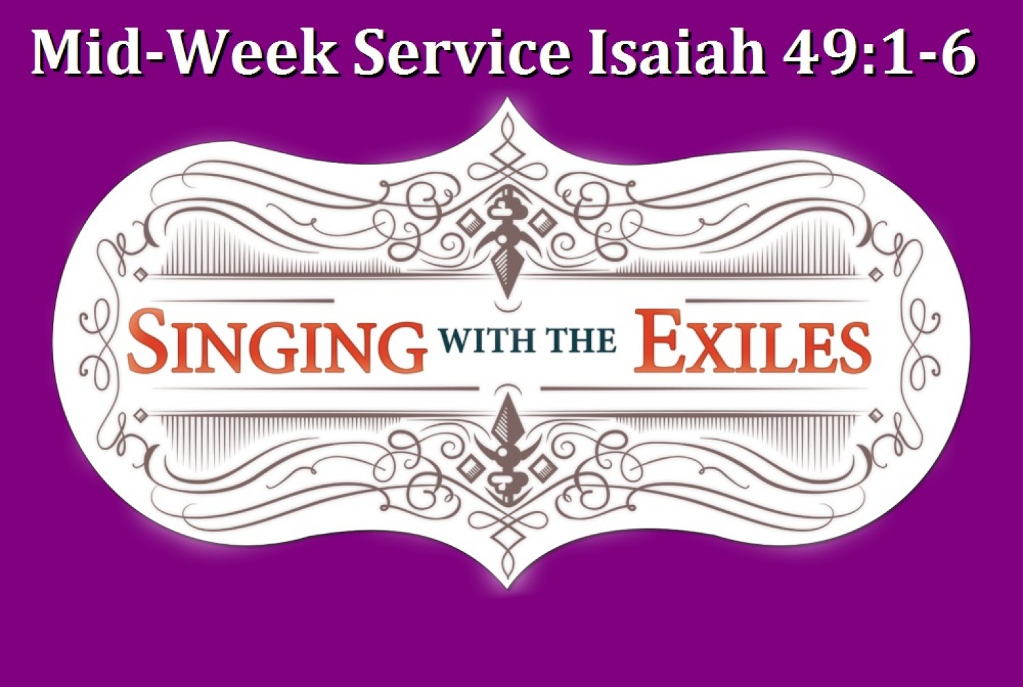 Lenten Midweek Sermon \ Pastor Jeremy Swem \ March 18th, 2015