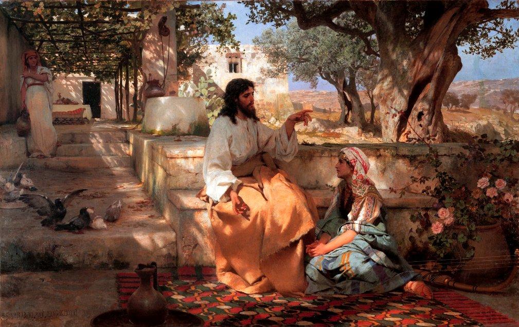 """Listening to Jesus"" Sermon / Luke 10:38-42 / Pr. Ted A. Giese / Sunday July 21st 2019 / Season of Pentecost / Mount Olive Lutheran Church   - Image 1"