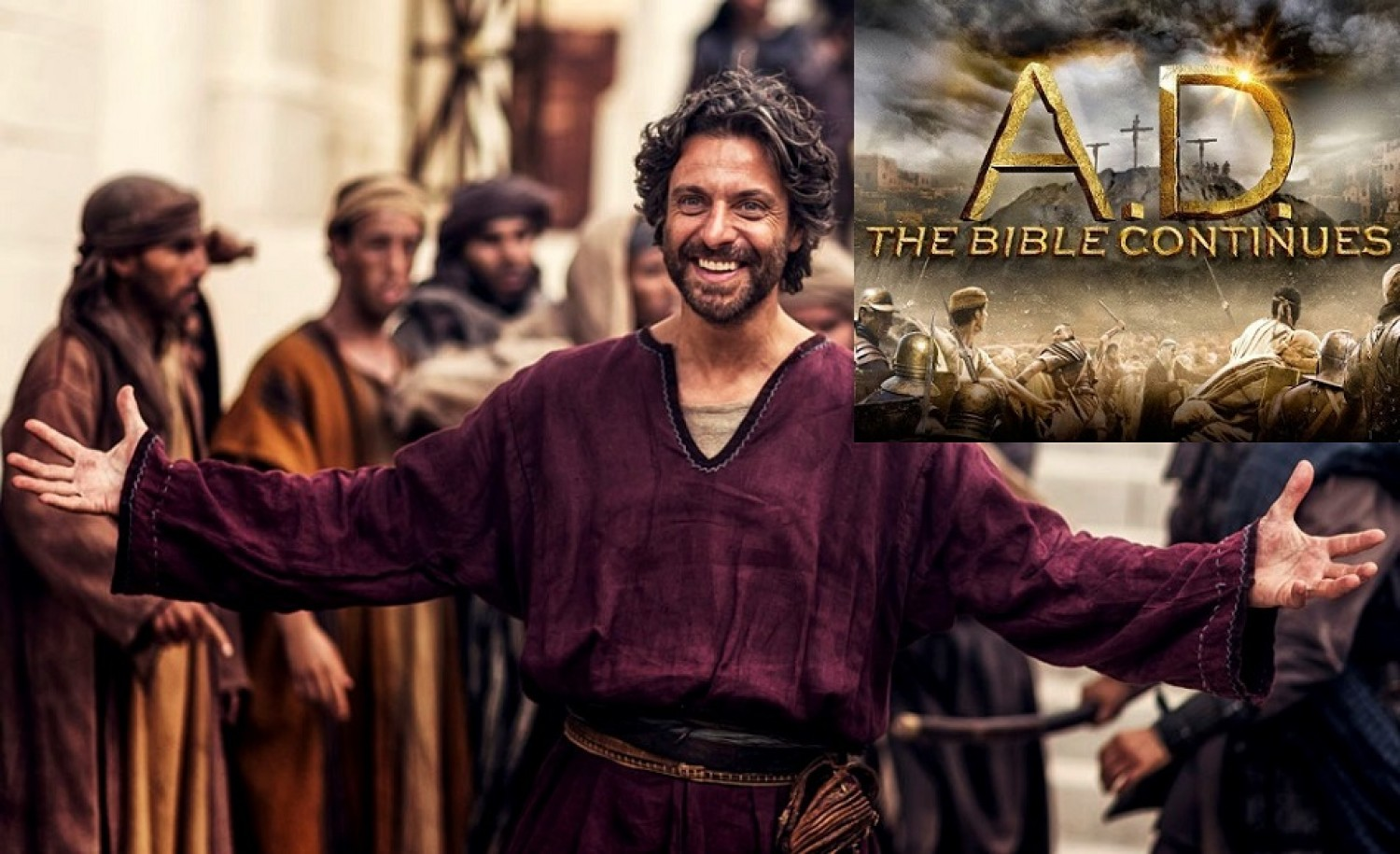 Recap & Review - Episode 3 / A.D. The Bible Continues