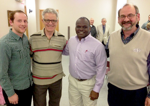 Richie Hall Speaks at Lutheran Laymen's League Fundraising Supper