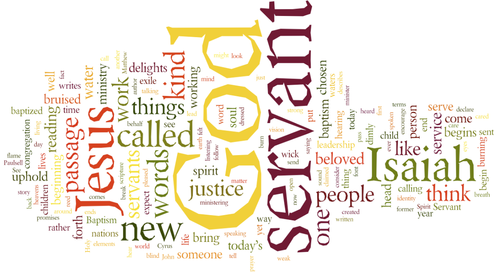 Sermon / Pastor Terry / January 12th, 2014 / Isaiah 42 / God's Gift: Our Servant