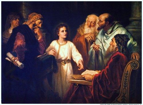 Sermon January 5, 2014/ Vicar James Preus/ Jesus Fulfills The Law For Our Sake / Luke 2:40-52
